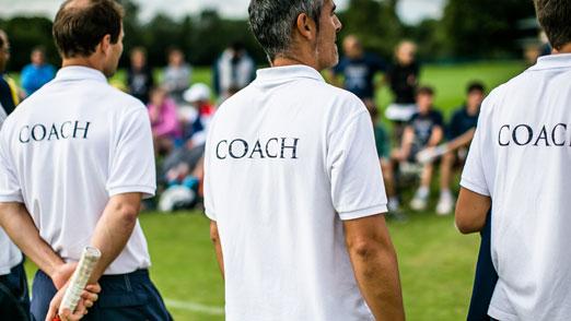 Tennis coaching skills