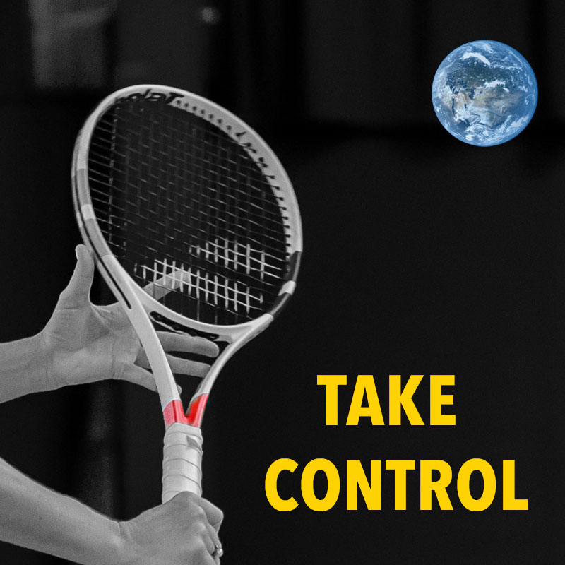 Take control of your tennis world