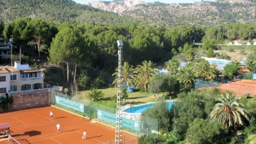 Intermediate Player Week courts in Mallorca