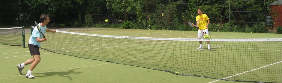 Practise makes perfect at the London Tennis Camp