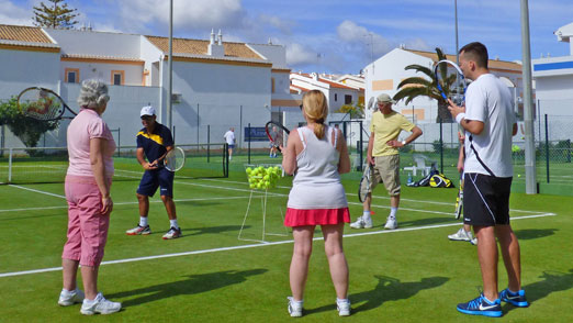 Improver Tennis Players, Single Player Week