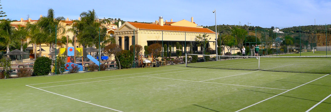 Baia da Luz tennis courts