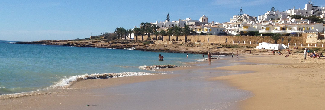 Winter holiday in the sun, Algarve