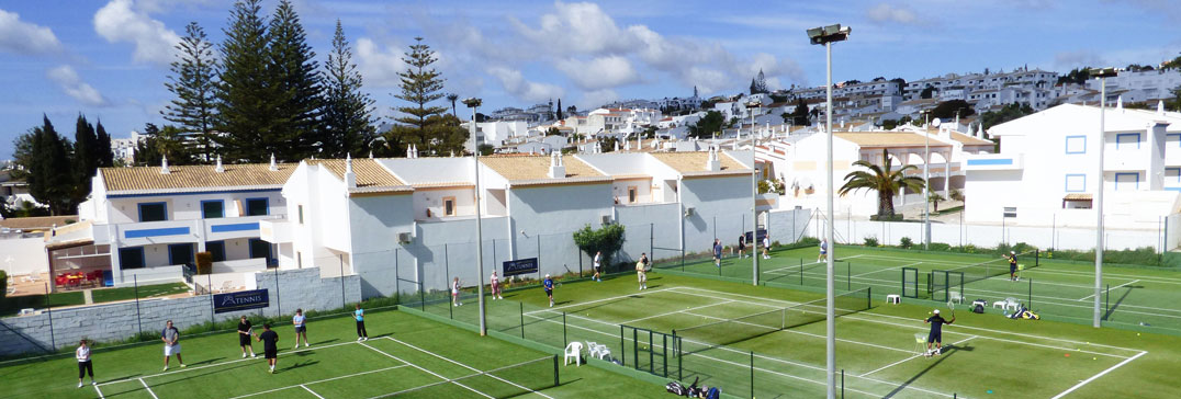 Tennis courts at Luz Bay Hotel