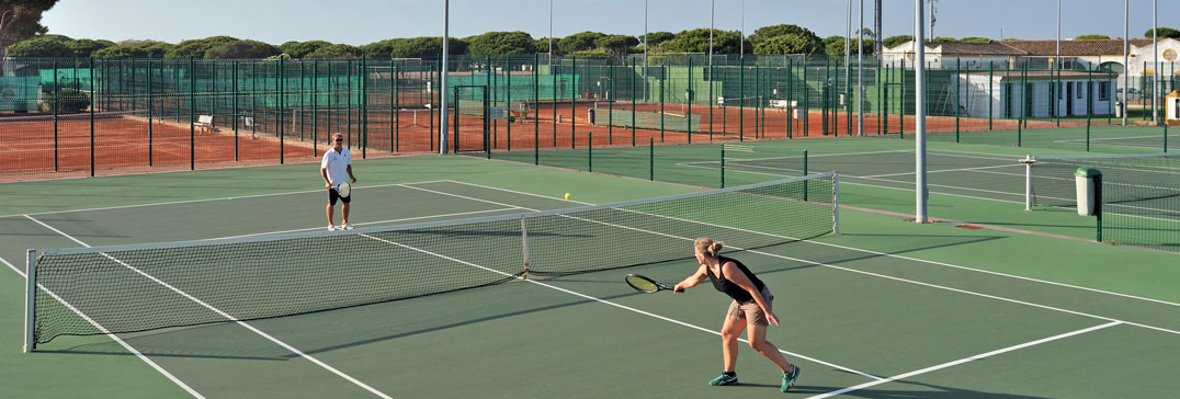 Tennis courts in Andalucia