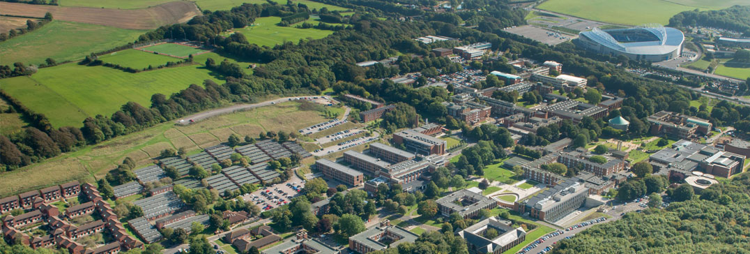 University of Sussex campus