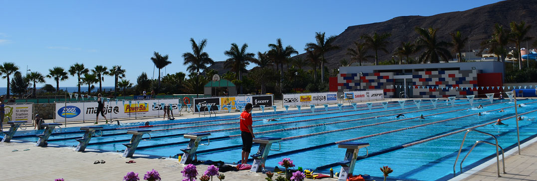 Olympic swimming pool in Fuerteventura