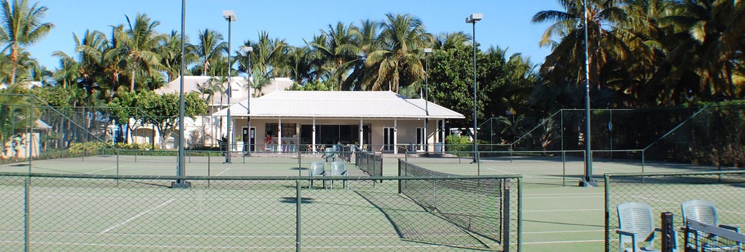 Tennis courts in Mauritius