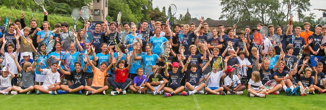 Oxford Tennis & English Camp players