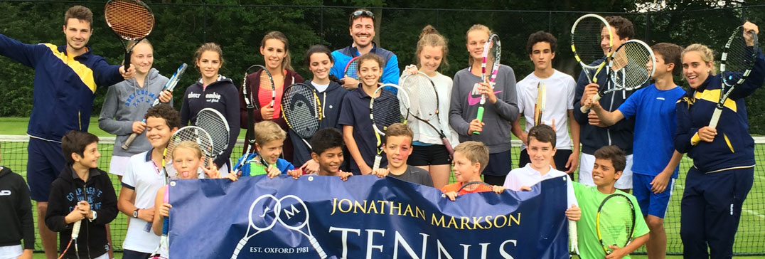 Yorkshire Tennis Camp coaches and players