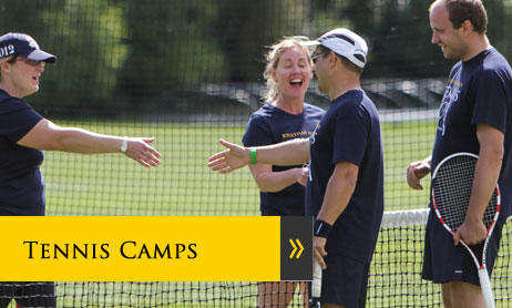 Tennis Courses and tennis short breaks for adults