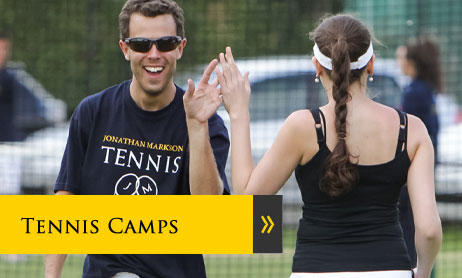 Adult tennis camps and courses in Oxford