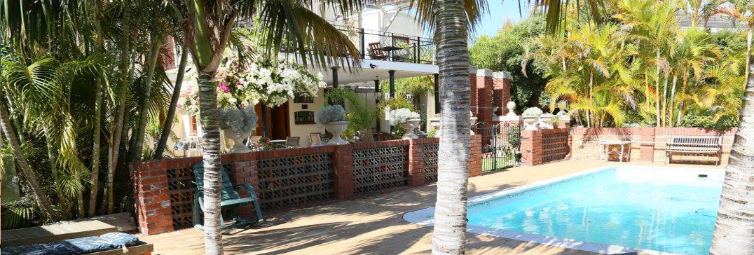 Swimming pool at Villa-Fig, Cape Town
