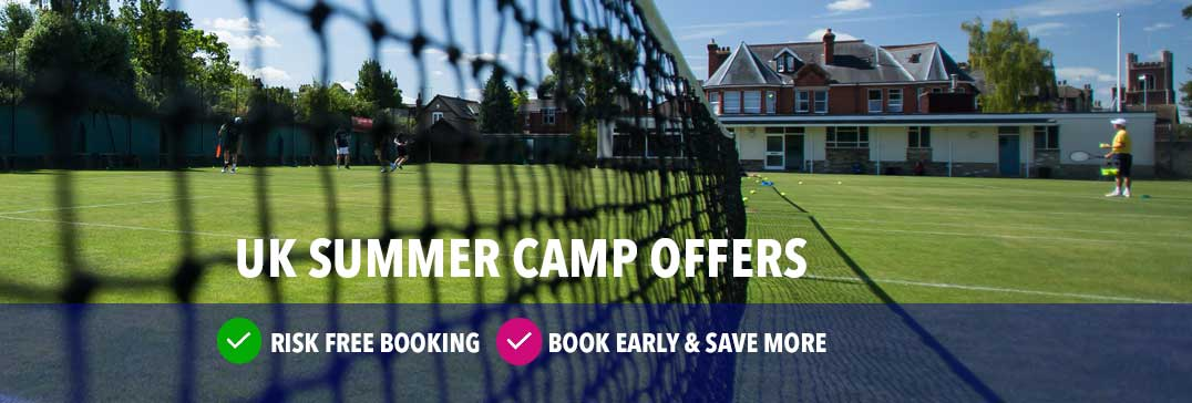 No.1 Tennis Camp in England