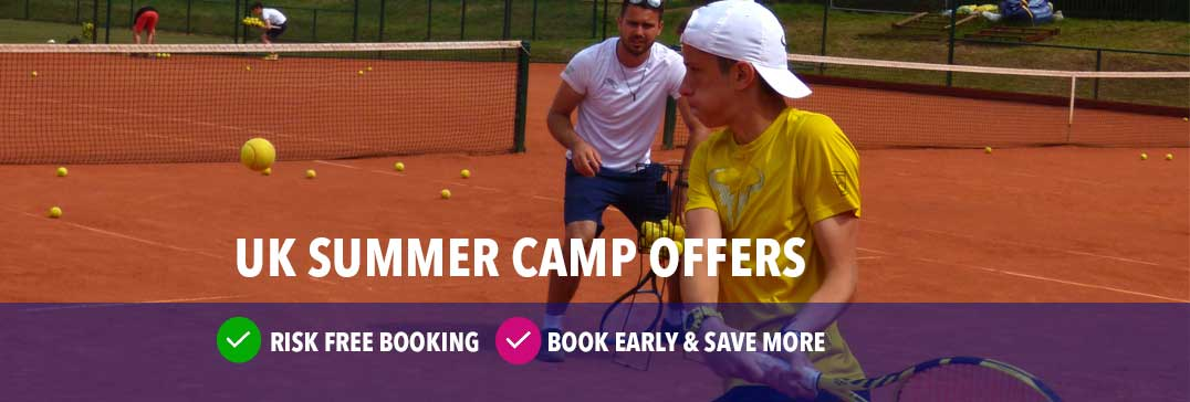Residential tennis camp with clay courts