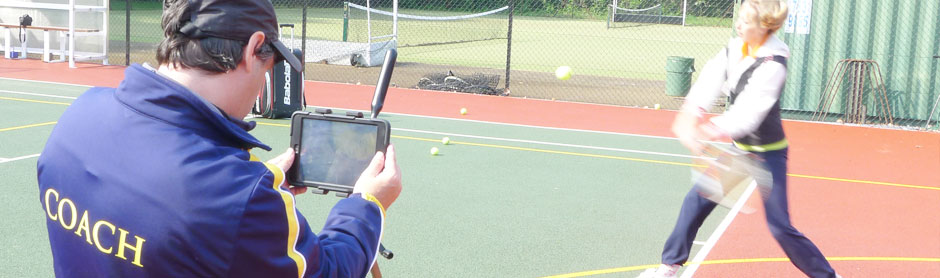 Video Feedback Tennis Clinic for adults