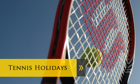You deserve a tennis holiday