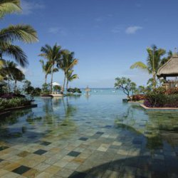 The pool at Mauritius Resort and Spa