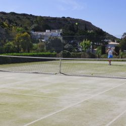 Tennis coaching at Baia da Luz