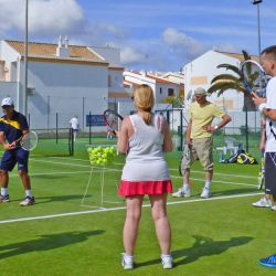 Small tennis group holiday, Algarve