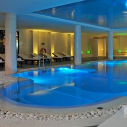 Indoor pool at the Royal Andalus