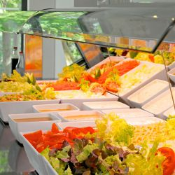 Salad bar, Royal Andalus