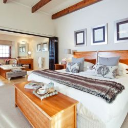 Bedroom at the Steenberg Hotel