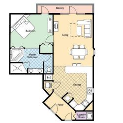 Star Island Apartment Room Plan