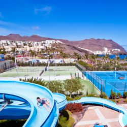 Tennis Courts at the Fuerteventura Hotel
