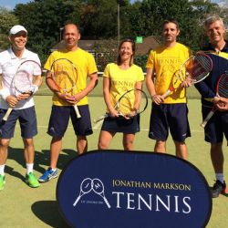 London tennis coaching team