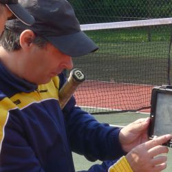 Video analysis at the London Tennis Camp
