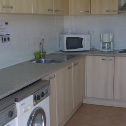 A fully equipped kitchen, Hotel Luz Bay