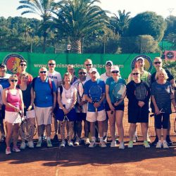 Players and Coaches in Mallorca
