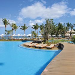 Pool in the sun, Sugar Beach Resort and Spa