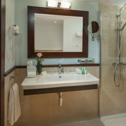 Walk in shower, Hotel Villamil