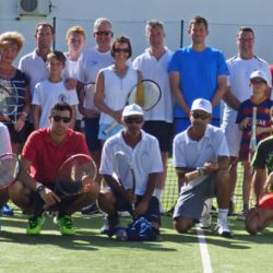 Family Tennis Week Players and Coaches