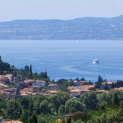 Lake Garda makes a great place for a tennis holiday