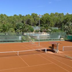 Clay courts in Mallorca for tennis holidays