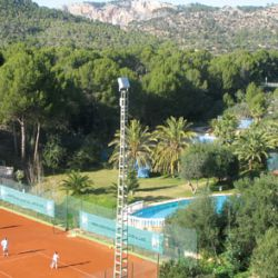 Clay courts in Mallorca